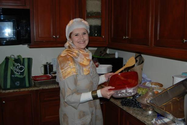 Lejla u kuhinji