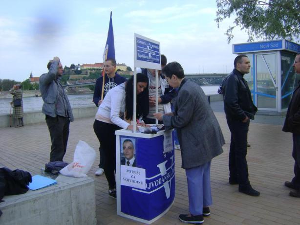 Potpisi za Vojvodinu