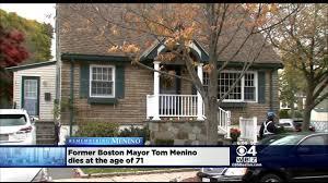 thomas menino's home