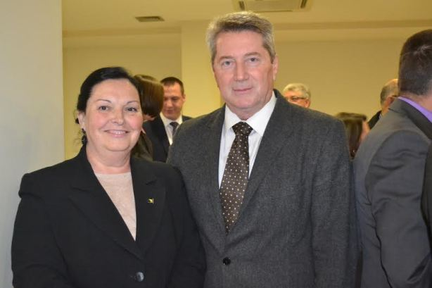 Alija Avdic sa ambasadoricom