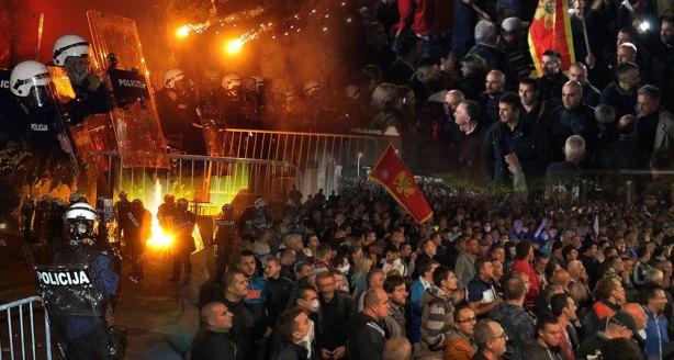 Podgorica-nemiri 2015