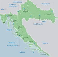 Vransko jezero-mapa
