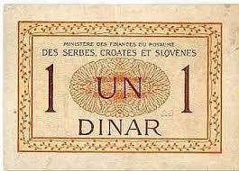 dinar na francuskom