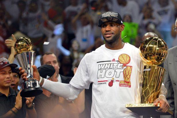 LeBron MVP finals 2016
