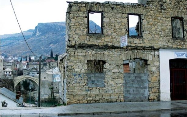 Mostar - rusevine
