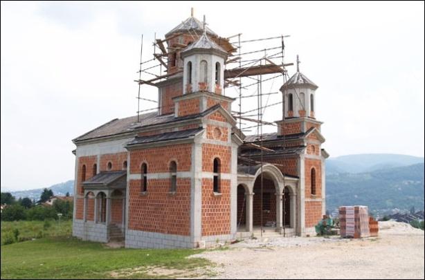 crkva na pobrdju